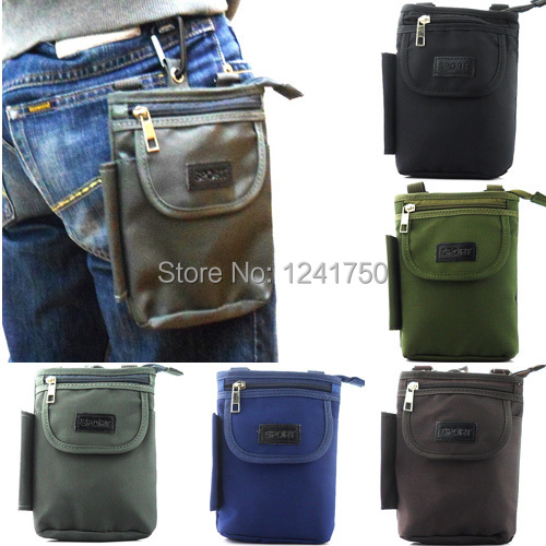 Outdoor Sports Climbing Cycling Hiking Camping Travel Shoulder Bag Mobile phone Pouch iphone 6/5/ 4Samsung S5/ Note 4/3/Edge - The stars child store