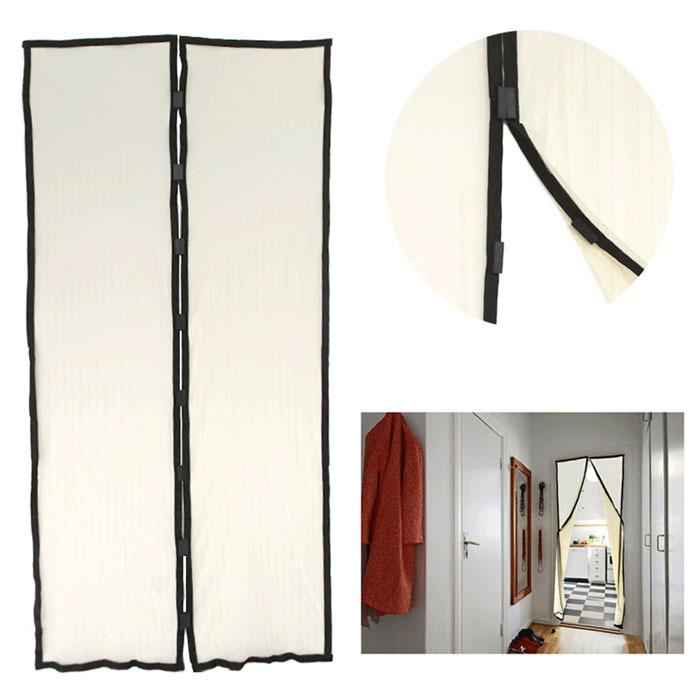 Mosquito mosquito net cortinas imanes sombra suave puerta - Imanes para puertas ...
