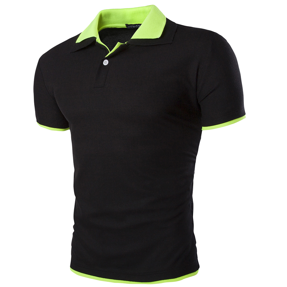 2016 Top Fashion New Brand Men's Polo Shirts Summer Style Polos Short-sleeve Solid Shirt Sports Jerseys Golf Tennis Blouse Polo(China (Mainland))