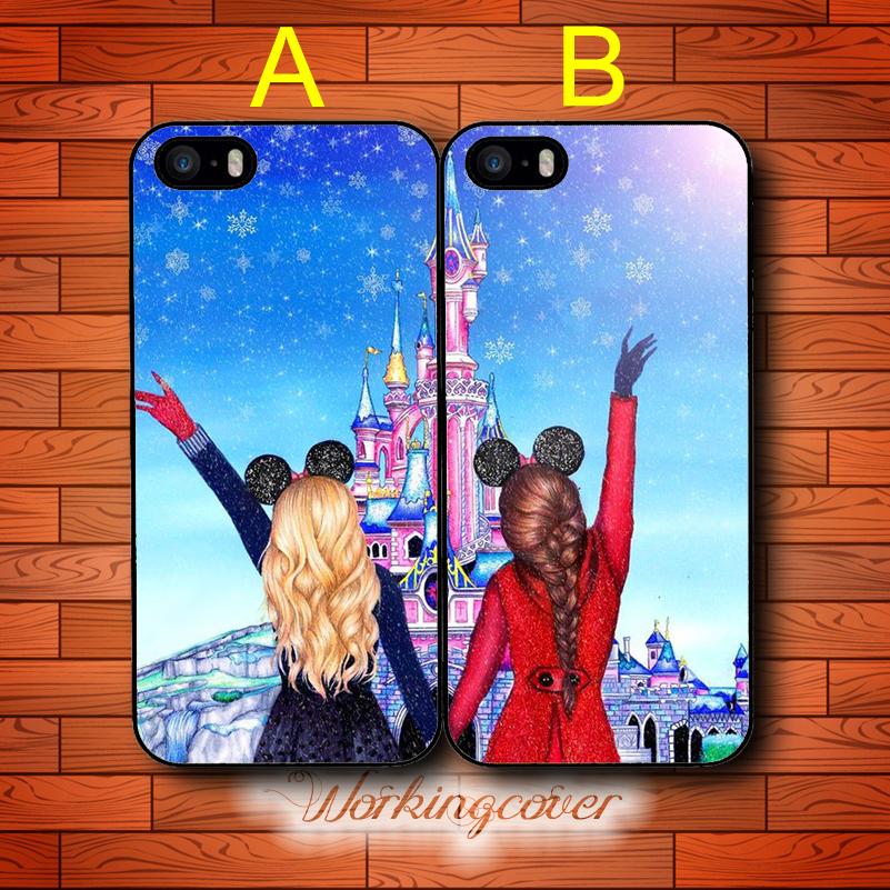 Achetez en gros coque iphone 5 5s 4 4s 6 6 s meilleurs amis en ligne des grossistes coque - Passer de blonde a brune ...