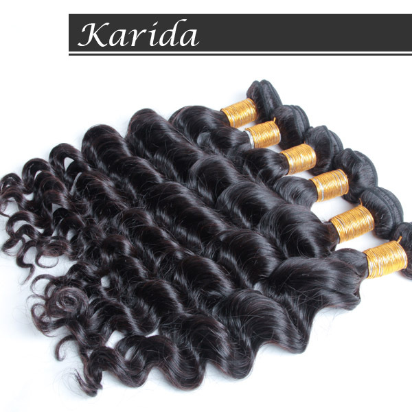 Karida human virgin hair natural wave brazilian hair,full and thick unprocessed raw hair weave,DHL free shipping<br><br>Aliexpress