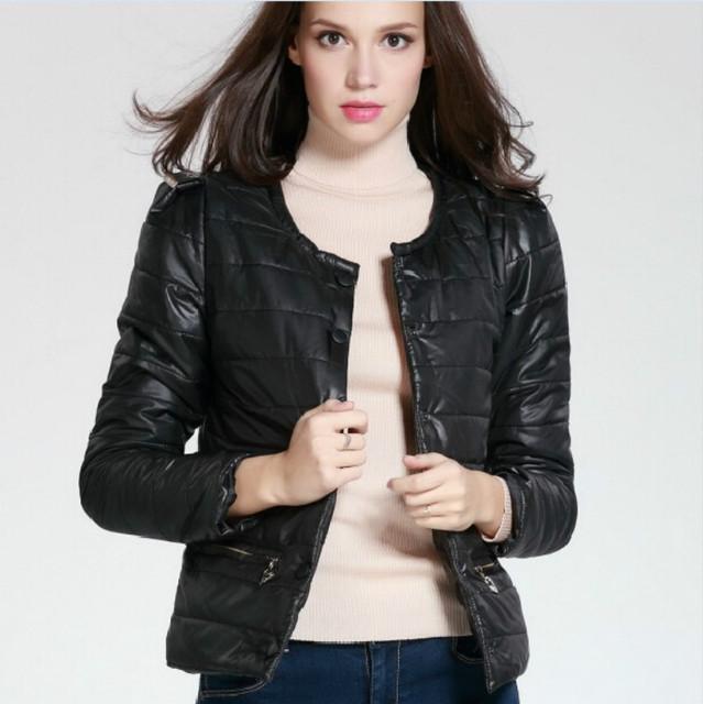 S-3XL 10 цвета Весна и зимняя куртка женщины однобортный короткий параграф с длинными ...