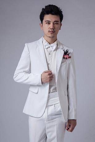 Фотография White terno masculino latest coat pant designs mariage men groom wedding suits for men blazers men suits boys prom suits