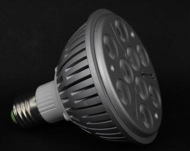E27 LED Par light;PAR30;9*1W;AC100-240V input