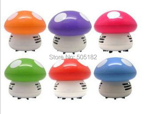 New Arrivel !! Home Handheld Mushroom Shaped Mini Vacuum Cleaner Car Laptop keyboard Desktop Dust cleaner + Free / Drop shipping(China (Mainland))