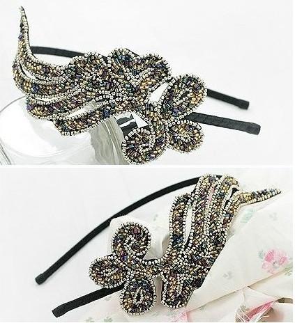 Fashion New Stylish Korean Style Fashion Angel Wing Rhinestone Women Hair Band Headband Hair Accessories tony654(China (Mainland))