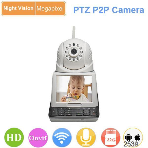 Two Way Video IP Camera Wi-Fi wireless for Baby Monitor, keyboard screen conversation, P2P YOOSEE APP remote control(China (Mainland))