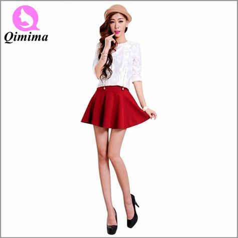 Women Spring Summer mini Skirt lady Short Skirt 2015 New arrival free shipping female sexy Skirt HF-0002(China (Mainland))
