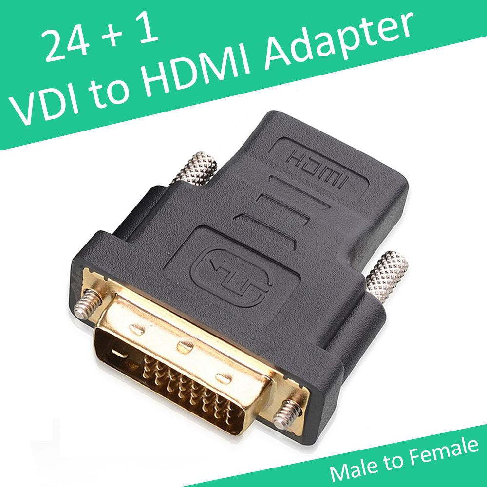 Free Shipping HDMI to DVI 24+1 Adapter Female to Male 1080P HDTV Converter for PC PS3 Projector TV Box Black(China (Mainland))