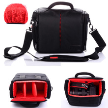Waterproof Video Photo Camera Bag Case for Canon EOS DSLR 760D 750D 700D 650D 600D 1100D 1200D 1300D 550D 60D 7D 6D 7D 5D(China (Mainland))