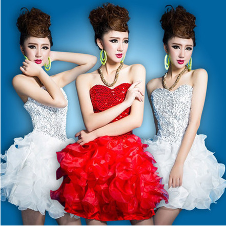The company will dress dress stage costume costume Modern Dance Costume Dance Skirt(China (Mainland))