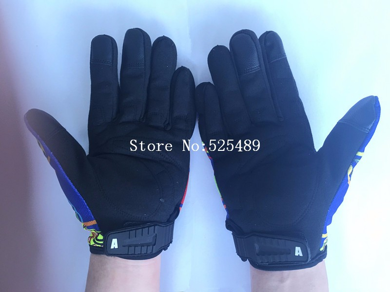 Brand Print Motorcycle Gloves Motocross Racing Gloves Motorbike Outdoor Ride Gloves guantes moto off-road Protective Gear Glove