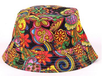Мужчин цветочные вс hat, дизайн одежды летний пляж цветок холст Boonie рыбак шляпы, ...