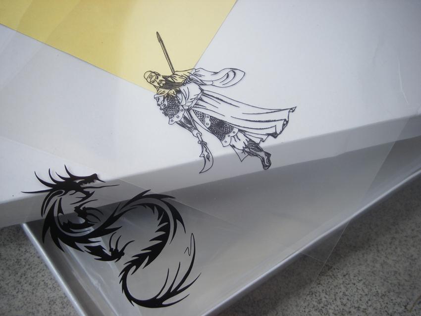 20 sheets A4 Inkjet & Laser Printing Transparency Film For Plate Making Screen Printing Pad Printing(China (Mainland))