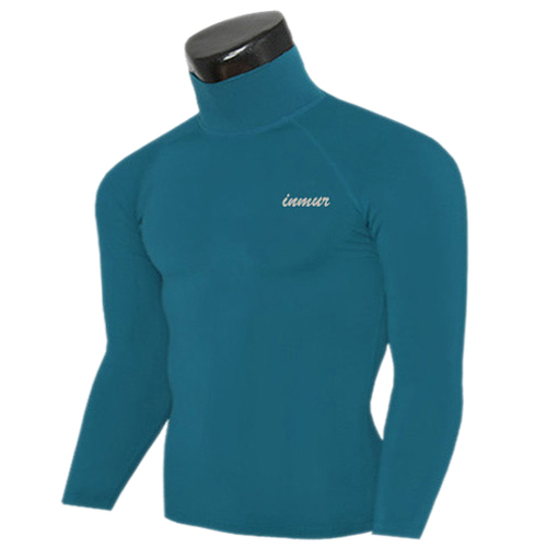 2015 Sport Base Layers Stand collar T shirts Mens Compression tights Long sleeve Fitness Sportswear Gym Thermal Tops Gear M-XXL(China (Mainland))
