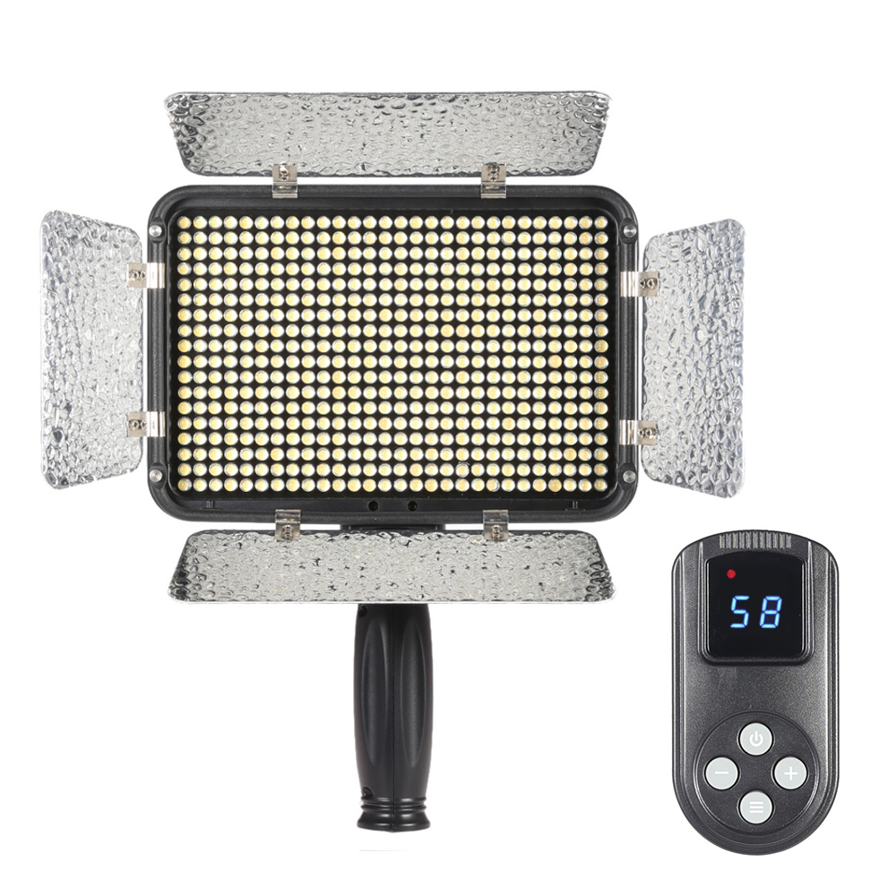 Ultra 5600K Studio LED Light Dimmable Illumination Video Photo Panel Lamp with Wireless Controller for Canon Nikon DSLR Camera(China (Mainland))