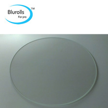 3d printer parts rostock delta kossel borosilicate glass plate round 250mm 3mm thick borosilicate glass top quality
