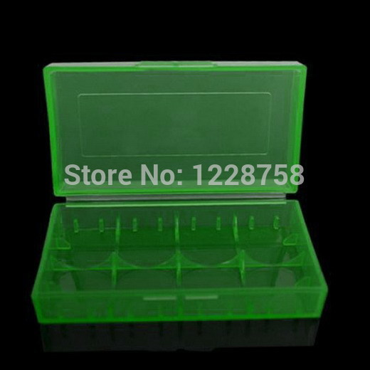 Гаджет  2015 hot selling Free Shipping CR123A 18650 16340 Battery Case Box Holder Storage White/Green/Blue new VE007 P None Бытовая электроника