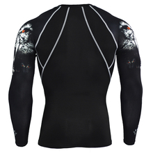 Buy Mens Compression Shirts Bodybuilding Skin Tight Long Sleeves Jerseys Clothings MMA Crossfit Exercise Workout Fitness Sportswear for $10.56 in AliExpress store