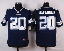 Dallas Cowboys #12 Roger Staubach Elite White and Navy Blue Team Color High quality free shipping(China (Mainland))