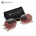 AEVOGUE Sunglasses For Men Women Small Rectangle Alloy Frame Summer Style Brand Designer Unisex Sun Glasses
