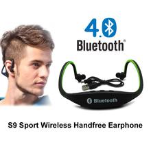 2 015 Горячая продажа S9 Спорт Беспроводная связь Bluetooth наушники наушники со встроенным микрофоном для IOS / Android / Windows