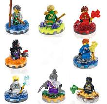 Ninjagoed Wyplash/Spitta/Spinjitzu Starter/Zane DX/ Kruncha Minifigures Building Blocks Sets Toys Compatible Legod - BELA E-Commerce Co., Ltd. store