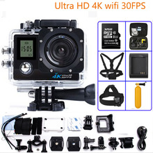 Buy Action camera WiFi 1080P Full HD 2.0 LCD HD 30m Waterproof DV video Sport extreme go pro cam sensor SONY IMX179 for $44.17 in AliExpress store