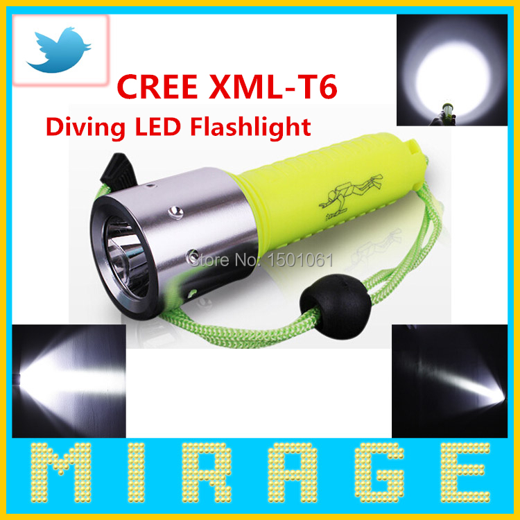 New 2000 lumens linterna CREE XML-T6 LED lanterna Waterproof underwater scuba Dive Diving Flashlight Torch light lamp for diver(China (Mainland))