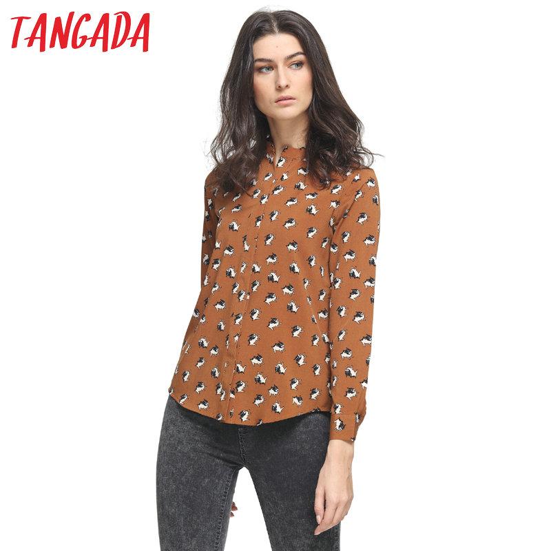 Beautiful GERARD DAREL Womens Classic Brown Silk Short-Sleeve Shirt Top Blouse 36/S | EBay