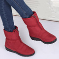 snow boots winter woman 2016 flat non slip thermal plush women s platform boots waterproof mom