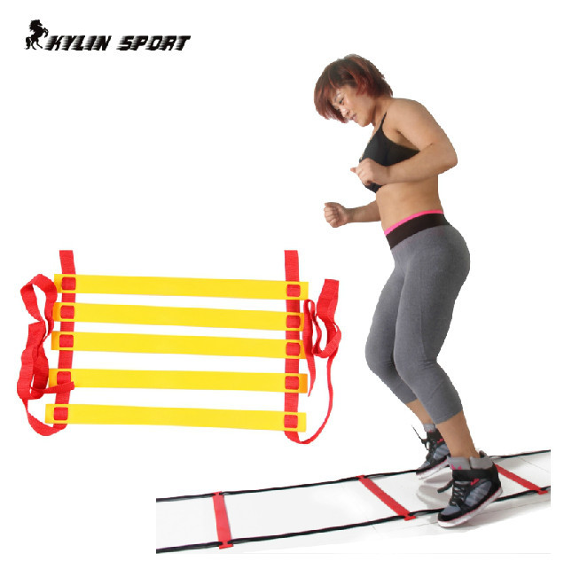 fitness exercise agility speed ladder quick flat speed ladder for fitness training soccer training the 6 section 3 meters(China (Mainland))