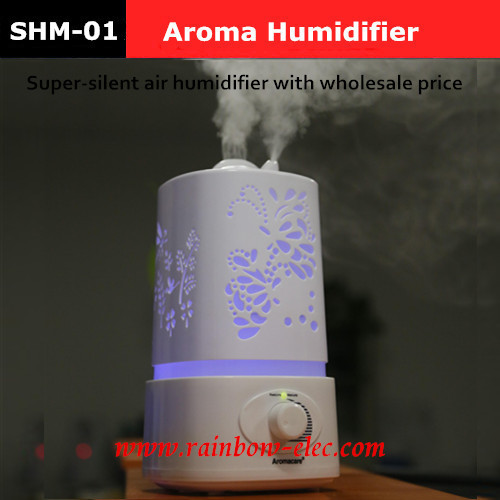 Гаджет  2015 Air humidifier LED Night Light With Carve Design Ultrasonic humidifier air Aroma Diffuser mist maker None Бытовая техника