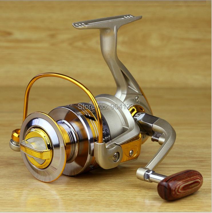 2015 New 10 BB Spool Aluminum Spinning Fly Fishing Reel Baitcasting Fishing Reels Saltwater Okuma Baitrunner Metal Front Drag(China (Mainland))