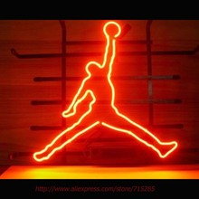 Brand New Basketball Sport Neon Bulbs Neon Signs Real Glass Tube Art Handcraft Signs Decorated Beer Bar Pub Fast Shipping 17X14