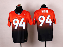 Denver Broncos Drift Fashion II Elite Peyton Manning,Von Miller,DeMarcus Ware,Demaryius Thomas,Derek Wolfe,Ward,Paxton Lynch(China (Mainland))