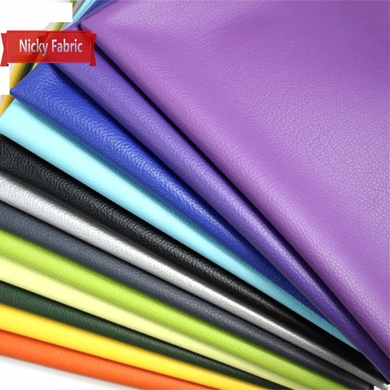 PU Faux Leather Fabrics Leather Sofa Artificial Leather for sewing DIY Bow Material Hairpin Decoration Accessories Leather Skin(China (Mainland))