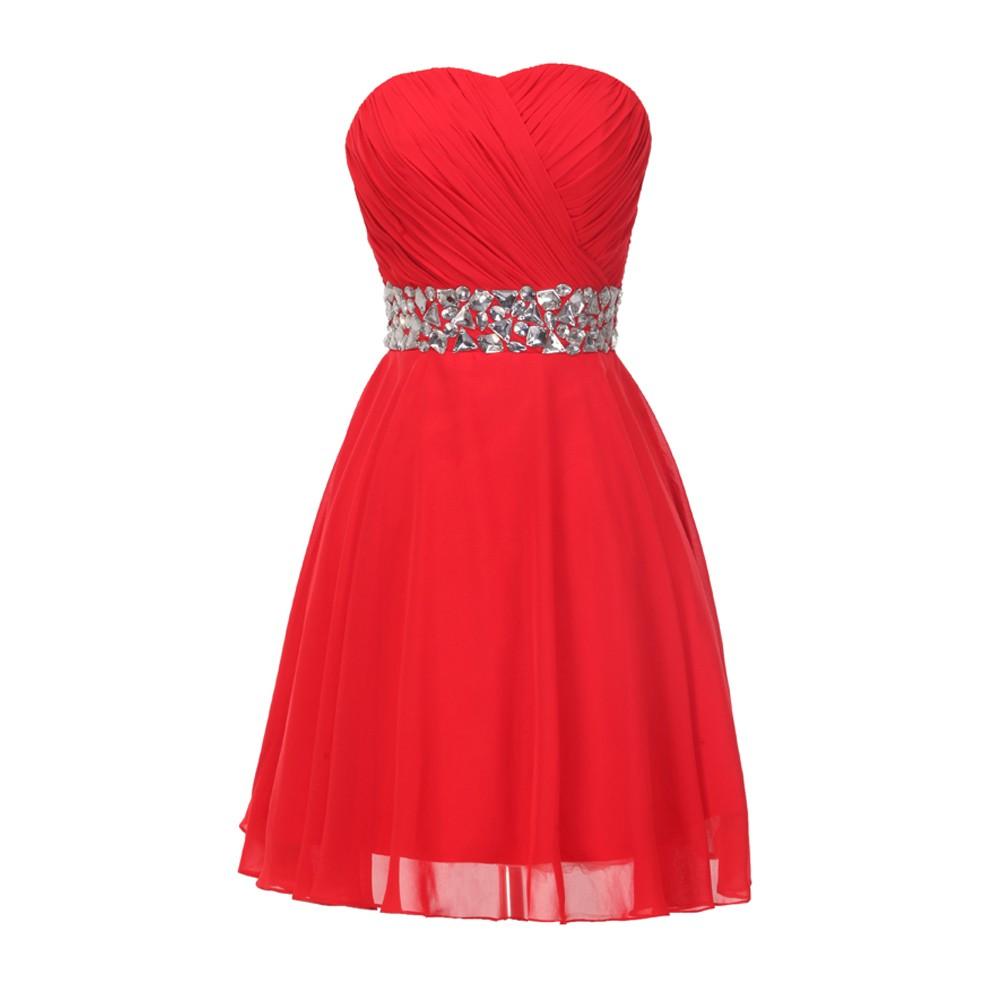 Весна стиль милый корсет средней школы королевский синий короткое выпускного платья возвращения на родину для выпускные платья камни кристаллов 4792