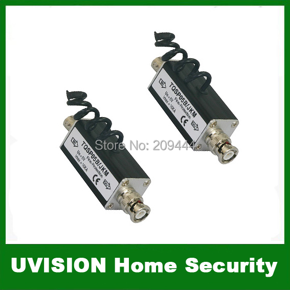 Security CCTV Video Surge Lightning Arrester Protector 2pcs/lot free shipping