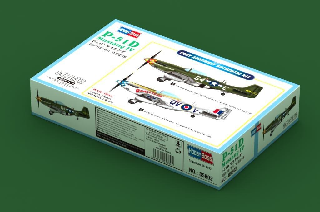 Hobby Boss model 85802 1/48 P-51D Mustang IV model kit(China (Mainland))