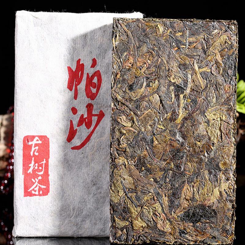 Menghai compressed Puer tea brick 250g raw Pasha ecological old trees 250g Yunnan puer tea pu erh sheng organic pu er tea raw<br><br>Aliexpress