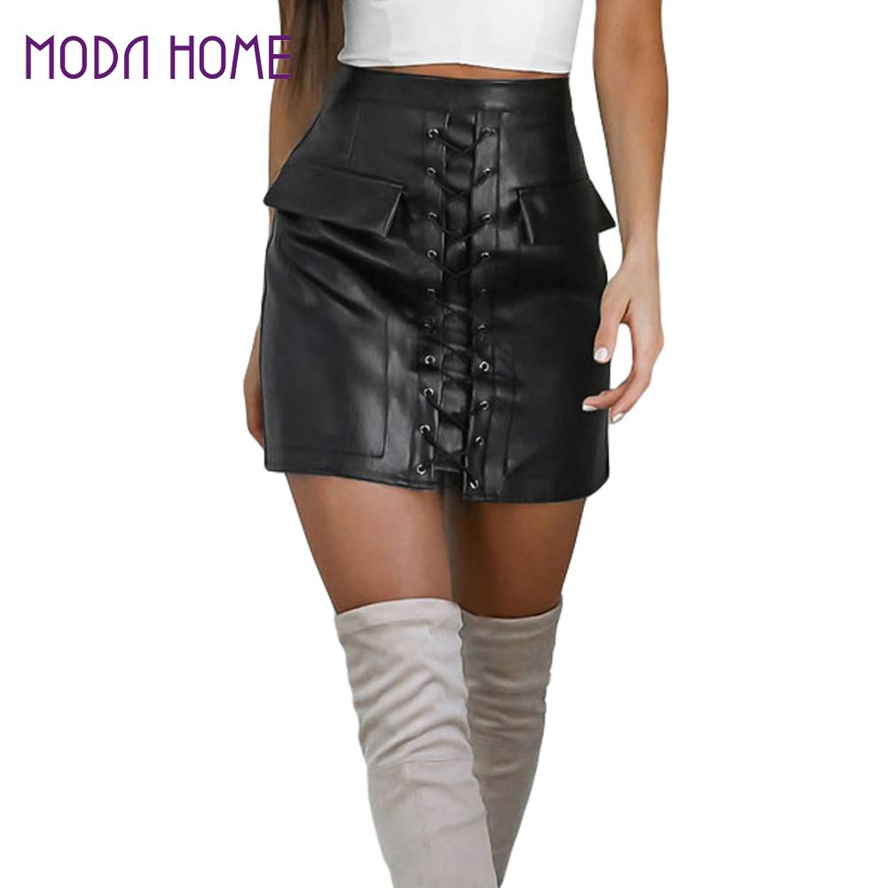 High Quality Leather Mini Skirt Lace-Buy Cheap Leather Mini Skirt ...