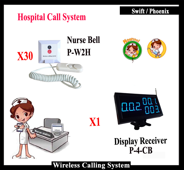 2016 New Wireless Nurse Call System For Hospital Equipment For Emergency Medical With Patient Call Bell And Display(China (Mainland))