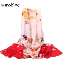Designers Scarves Women Retro Totem Printed Long Chiffon Wrap Scarf Summer/Autumn Ladies Soft Shawls Scarves Stoles #JU(China (Mainland))