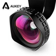Buy Aukey Optic Pro Lens 18MM HD Wide Angle Cell Phone Camera Lens Kit 2X Landscape iPhone Samsung HTC Smarphones for $22.30 in AliExpress store