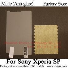 Matte Anti glare Frosted Screen Protector Guard Cover Protective Film For Sony Xperia SP M35h M35i M35c M35t C5306 C5302 C5303