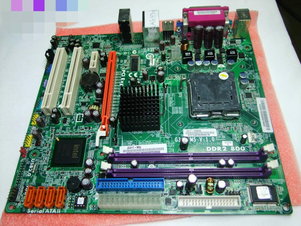 100% tested For ACER G31T- M5 MBSA509.01 AG3730 INTEL G31 LGA 775 Motherboard work perfect(China (Mainland))