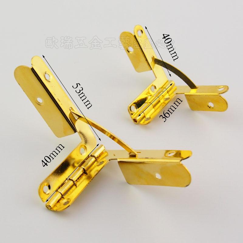 Small Quadrant Hinge Set for humidor boxes/ cigar Case Twentysomething hinge hinge jin 100pcs/lot(China (Mainland))