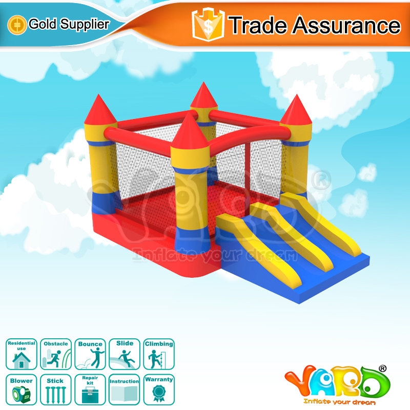 YARD Inflatable Jumping Bouncer Castle Residential Bounce House Moonwalk(China (Mainland))