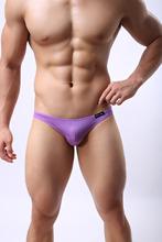 Free shipping  Men's sexy Brief Male Underwear Panites Bikini Underwears 7 color(China (Mainland))